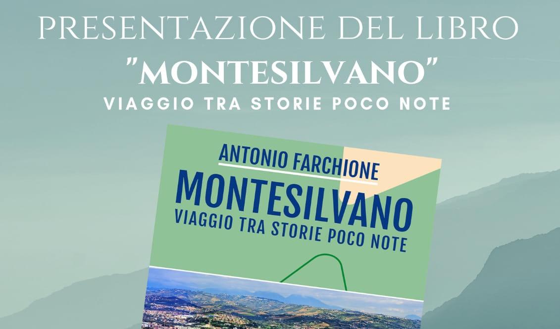 """Presentazione del libro """"Montesilvano"""" di Antonio Farchione"""